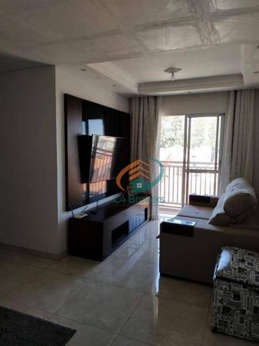 Imagem 1 de 21 de Apartamento Com 2 Dormitórios À Venda, 54 M² Por R$ 305.000,00 - Jardim Do Triunfo - Guarulhos/sp - Ap2979