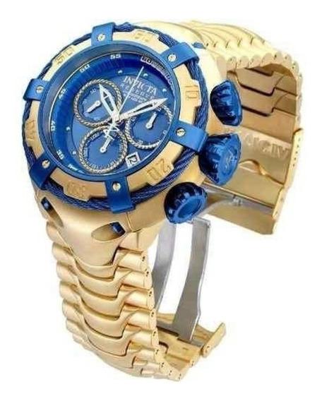 Relógio Invicta Banhado A Ouro 18k Original.