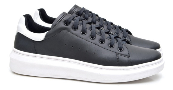 Tênis Sneaker Masculino Fork 5049-1ec Preto