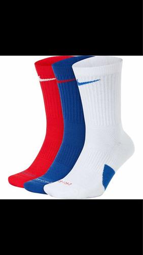Mes para ver Atlético  3 Pack Calcetas Nike Basketball Elite Nba Lebron Kyrie | Mercado Libre