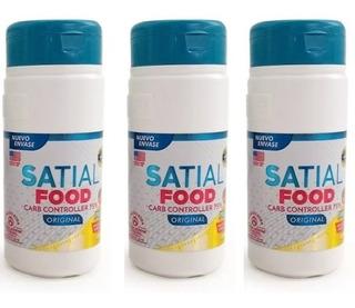 Satial Food Polvo 50g Bloquea Carbohidr 3 Uni ¡envío Gratis!