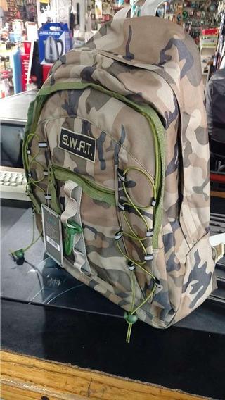 Mochila Camuflada Para Trekking 19 Lts Swat 91.25502