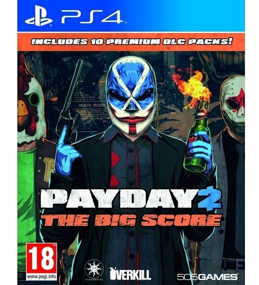 Payday 2 The Big Score Ps4 Midia Fisica