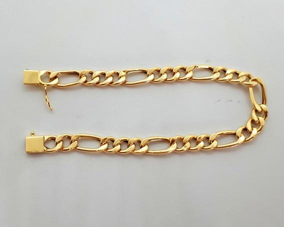 Pulseira Grumet De Ouro 18k - 12 Gramas E 22cm