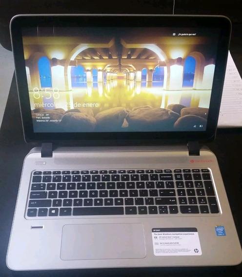 Laptop Hp Envy Con Pantalla Touch Sceen De 15,6 Como Nueva