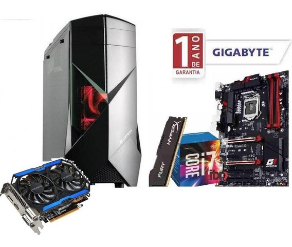 Pc Gamer Intel Core I7 6700 8gb Hd 1tb Gtx 960 2gb Oc