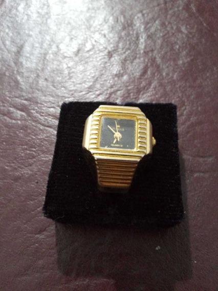 Original Anillo-reloj Marca Pomar, Con Estuche