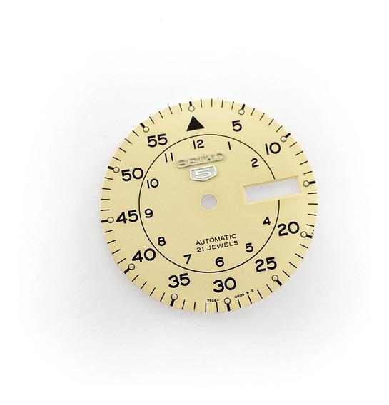 Caratula Reloj Seiko Skx Snk 28.5mm Dial Mod Colorbeige 7s26