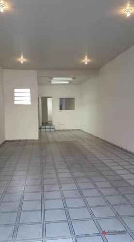 Imagem 1 de 11 de Salão, 120 M² - Venda Por R$ 1.540.000,00 Ou Aluguel Por R$ 4.500,00/mês - Centro - São Bernardo Do Campo/sp - Sl0264
