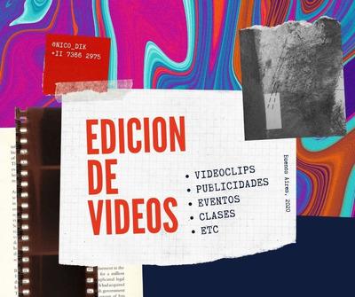 Edicion De Videos: Homenajes, Eventos, Ventas.