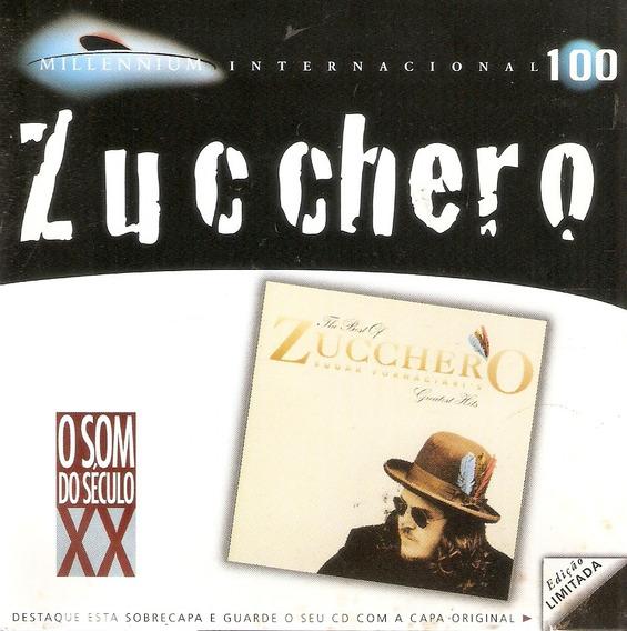 Cd Zucchero - Millennium Internacional - The Best Of - Novo*