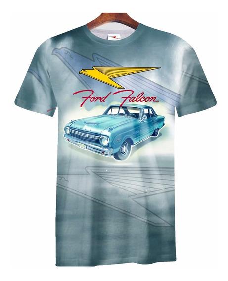 Remera Ford Falcon Retro Ranwey Car024