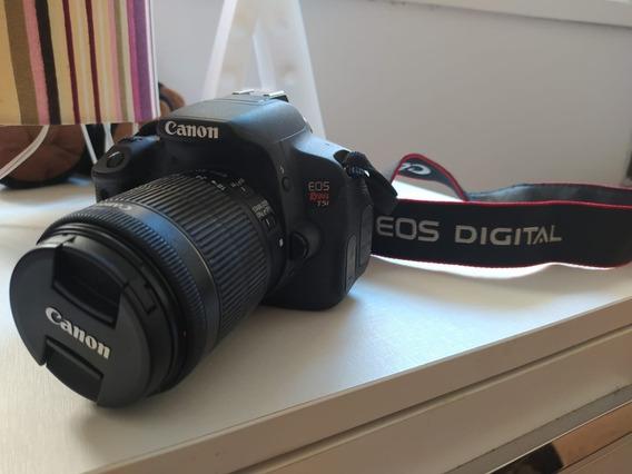 Câmera Eos Rebel T5i Com 18-55mm