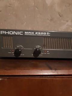 Amplificador Phonic Max 2500