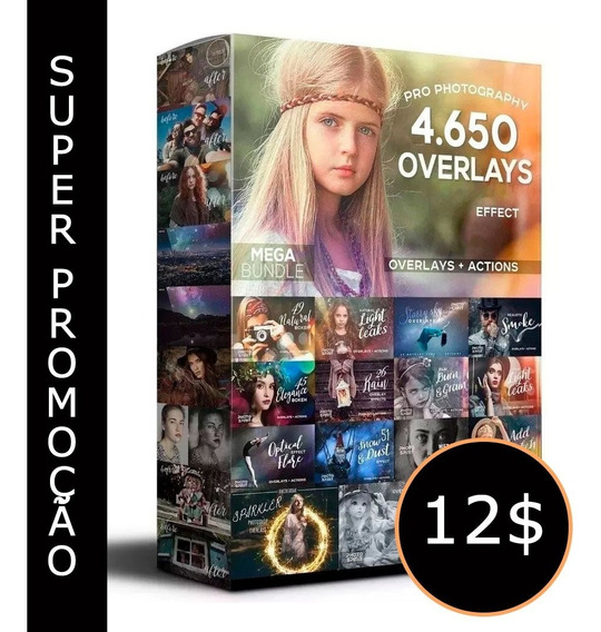 Super Pacote De 4.650 Overlays+3.500 Actions+mega Brinde!
