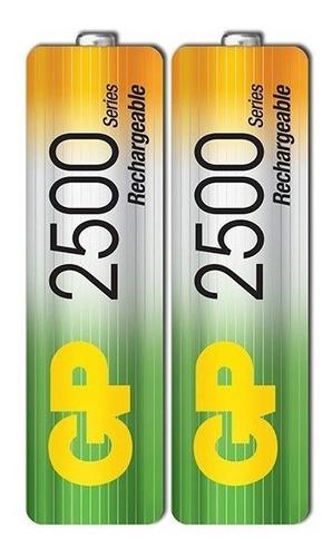 Baterias Pilas Recargables 2500 Mah
