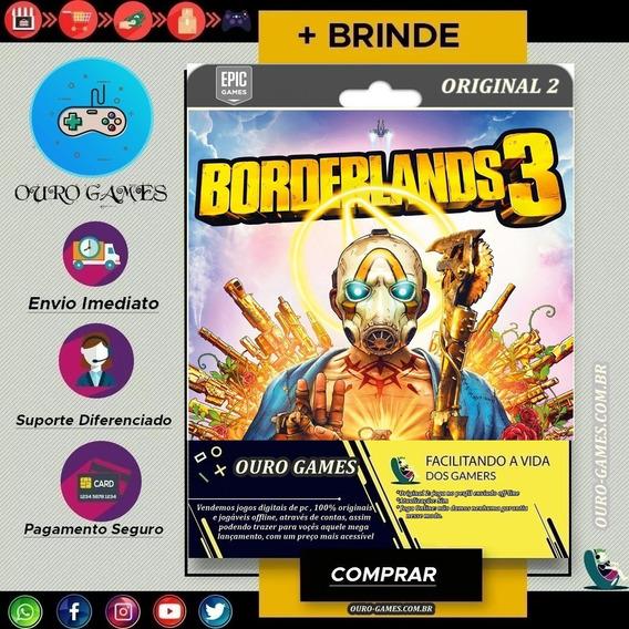 Borderlands 3 Original 2 Epic Games Off-line