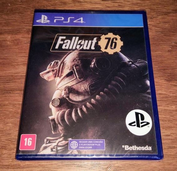 Fallout 76 Mídia Física Novo Lacrado Playstation 4 Ps4