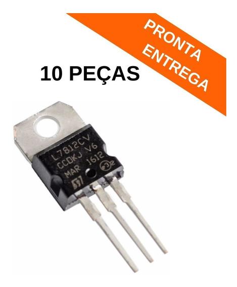 L7812cv / L7812 / Lm 7812 / Lm7805 / St (10 Peças) Original