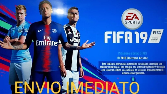 Fifa 19 Ps3 - Original +2 Jogos - Leia O Anuncio- Receba Hj