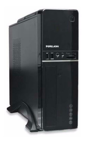 Case Slim Halion Supra Micro Atx S607a Negro - Envios Gratis
