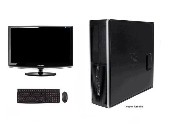 Computador Hp Elite 8200 I5 8gb 120ssd Monitor 18 Polegadas