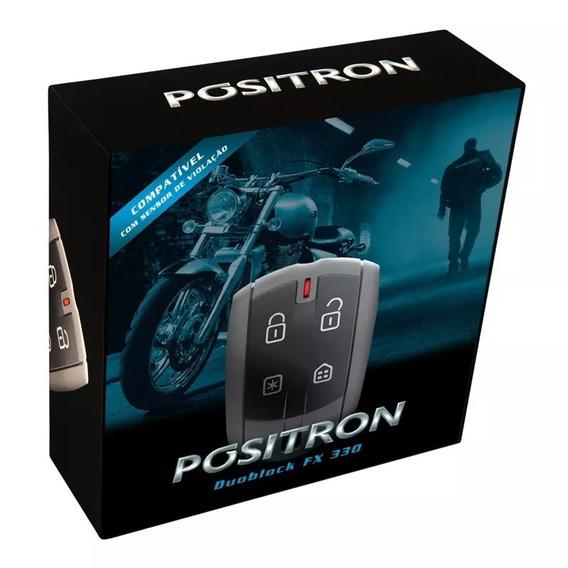 Alarme Moto Positron Duoblock Fx G7 Dedicado Fazer