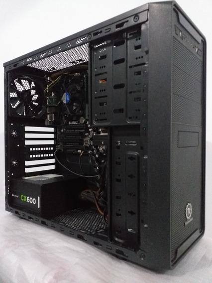 Pc Gamer Core I5 + 6gb Memória + Ssd 120gb + Hd 150gb Cx600