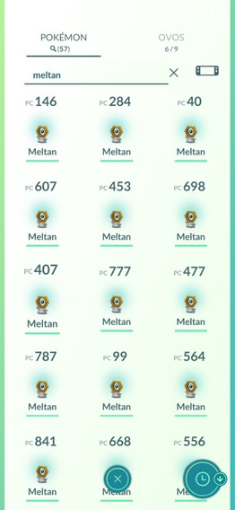 Pokémon Go - 60 Meltans + Caixa Misteriosa Pronta Para Uso