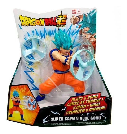 Bandai Dragon Ball Super Super Saiyan Blue Goku Blast & Spin