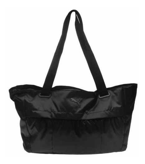 Bolsa Puma Mujer Negro Workout Bag Barrel 07504701