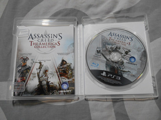 Assassins Creed The Americas Collection Trilogy Ps3 Ezio