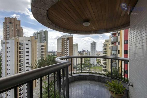 Linda Cobertura Com 4 Dormitórios À Venda, 463 M² Por R$ 3.800.000 - Jardim Anália Franco - São Paulo/sp - Co0211