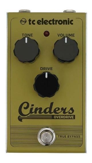 Pedal P Guitarra Cinders Overdrive - Tc Electronic +nf - Com Nota Fiscal E Garantia De 2 Anos Proshows!
