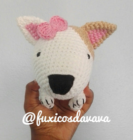 Bull Dog Terrier Em Amigurumi