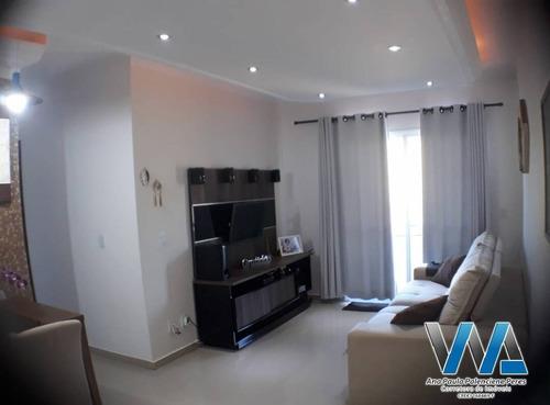 Imagem 1 de 15 de Lindo Apartamento No Condomínio Jardins De Bragança - 1263