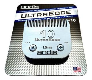 Cuchilla Del #10 Andis Acero Ultra Edge 1.6 Mm Navaja