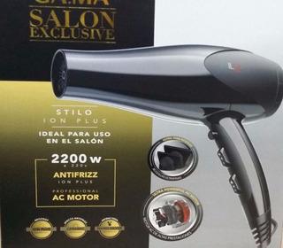 Secador De Pelo Gama Stilo Ion Plus 2200w Salon Profesional
