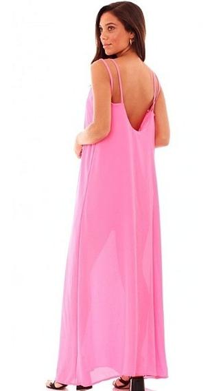 Vestidos En Gasa, Largos, Espalda Desnuda Ss´20