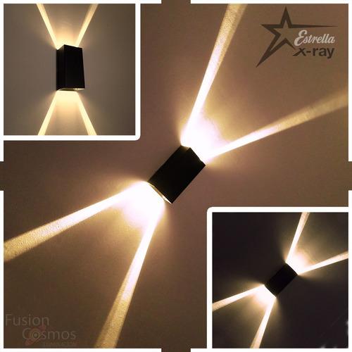 Difusor Aplique Bidireccional Efecto Rayos X Luz Indirecta
