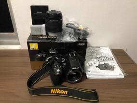 Câmera Nikon D5300 + 18-55mm Nikon Af-s Dx