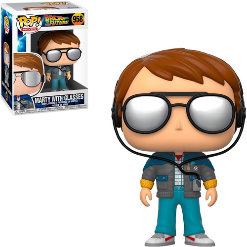 Funko Pop Movies Back To The Future - Marty With Glasses 958