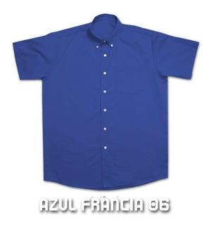 Camisas Gabardina Yazbek Manga Corta