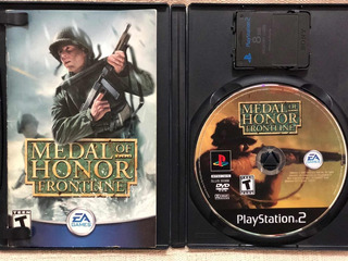 Medal Of Honor Frontline + Memory Card 8 Mb Play Station 2