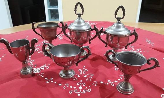 Trofeos Copas De Acero Inoxidale Lote Por 6