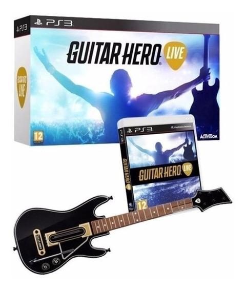 Guitar Hero Live Bundle Ps3 Original Lacrado Jogo Guitarra