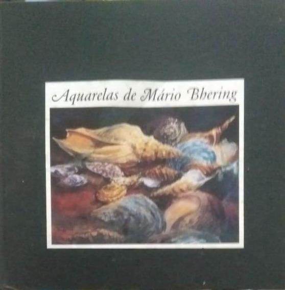 Livro Aquarelas De Mário Bhering Cad6