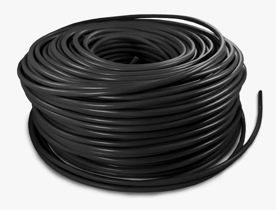 Cable Eléctrico Calibre 10 Thw Alucobre 100m Unipolar Negro