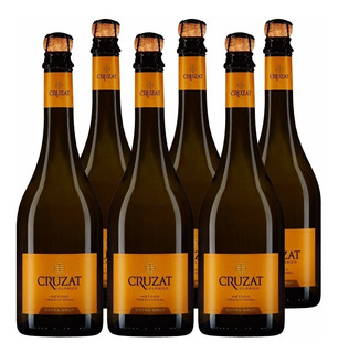 Champagne Cruzat Premier Extra Brut X750cc Caja X6 + Regalo