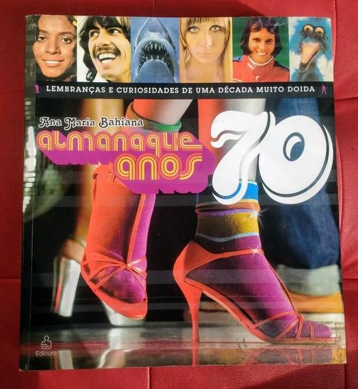 *sll* Lote 02 Livro Almanaque Anos 70 E 80 - Ediouro